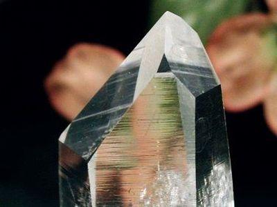 アーカンソー州産水晶 ポイント