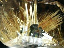 タイチンルチル(金針水晶)ゴールデンルチルクォーツ