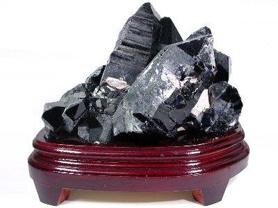 黒水晶モリオンクラスター