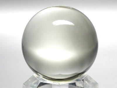 水晶丸玉−AA、A天然水晶丸玉