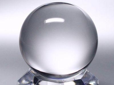 水晶玉・最高級3A天然水晶丸玉40mm−