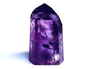 アメジスト紫水晶研磨ポイント六角柱