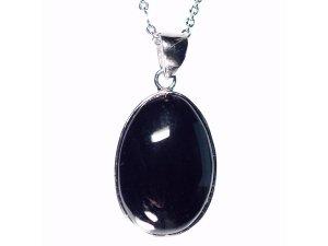 モリオン黒水晶ペンダントトップ