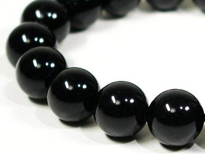 黒水晶(モリオン)ブレスレット1
