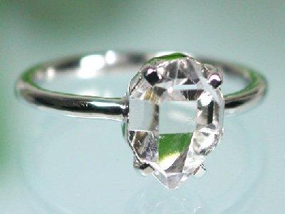 ハーキマーダイヤモンドリング・指輪
