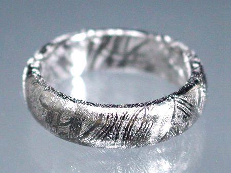 ギベオン隕石リング・指輪